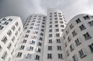 gehry bauten düsseldorf zollhof 3
